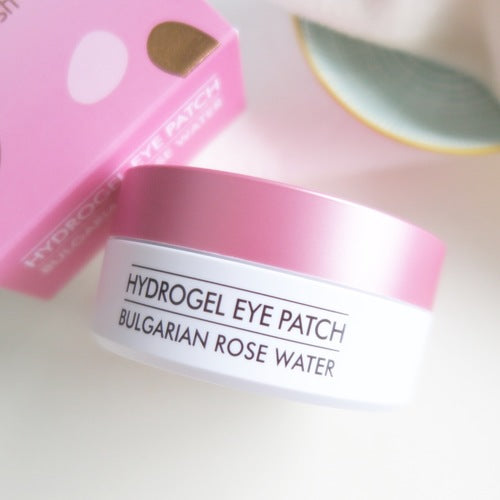 Bulgarian Rose Water Hydrogel Eye Mask