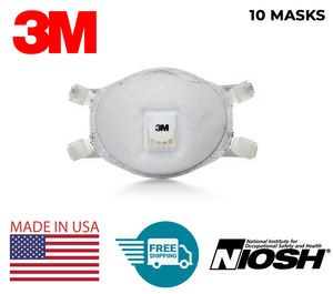 3M™ Particulate Respirator 8514, N95, with Nuisance Level Organic Vapor Relief | MADE IN USA | FREE UPS SHIPPING