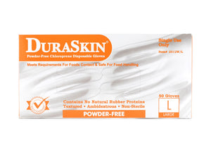 Premium DuraSkin® Powder-Free Chloroprene Disposable Gloves (Better than Nitrile!)