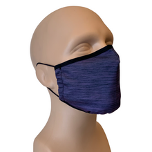 Load image into Gallery viewer, 3-Layer Reusable Face Mask - Heather Purple
