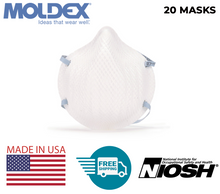 Load image into Gallery viewer, Moldex 2200 N95 Particulate Respirator | Size: M/L | MADE IN USA | FREE 2-DAY SHIPPING