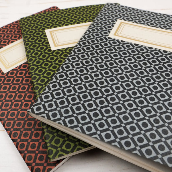 Geo-Diamond Notebooks (2 Pack)