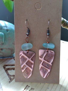 Upcycled Earrings Style 1