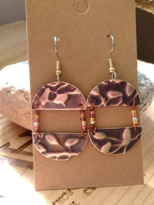 Upcycled Earrings Style 2