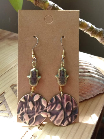 Upcycled Earrings Style 3
