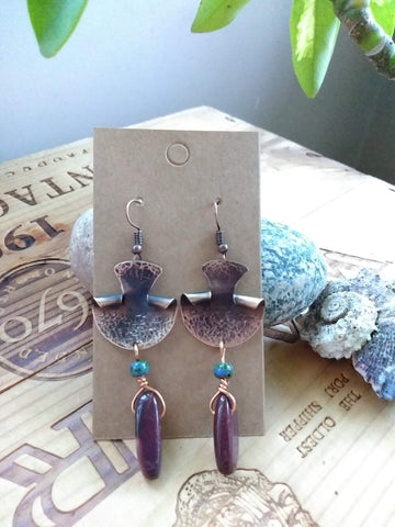 Upcycled Earrings Style 4