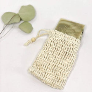 Biodegradable Natural Sisal Soap Saver Pouch | Eco Friendly