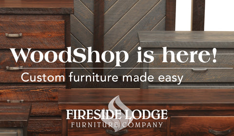 Fireside Lodge Rustic Bathroom Furniture