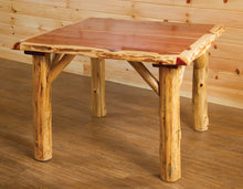 Load image into Gallery viewer, Rustic Family Dining Table - Red Cedar by Wildwood Rustics