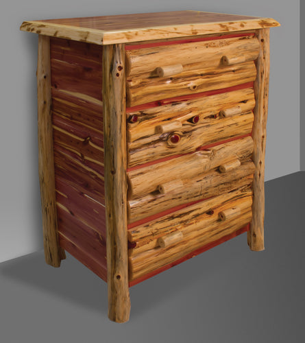 Rustic Dresser - Red Cedar by Wildwood Rustics