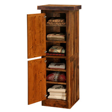 Load image into Gallery viewer, Rustic Linen Cabinet - Barnwood