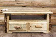 Load image into Gallery viewer, Glacier Country 2 Drawer Rustic Entertainment Center