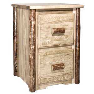 Glacier Country 2 Drawer Rustic File Cabinet