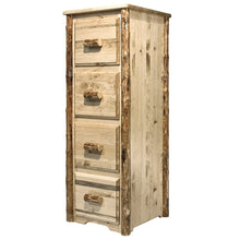 Load image into Gallery viewer, Glacier Country 4 Drawer Rustic File Cabinet