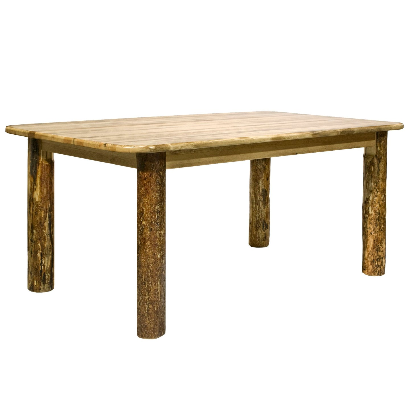 Glacier Country 4 Post Rustic Dining Table