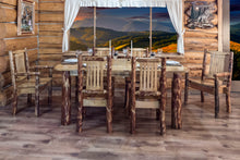 Load image into Gallery viewer, Glacier Country 4 Post Rustic Dining Table