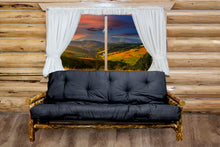 Load image into Gallery viewer, Glacier Country Rustic Futon w/ Mattress