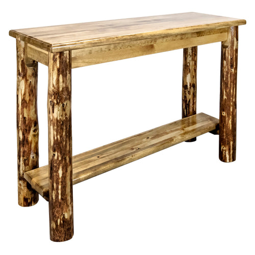 Glacier Country Console Table w/ Shelf