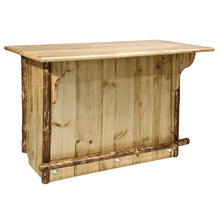Load image into Gallery viewer, Glacier Country Deluxe Rustic Bar with Foot Rail