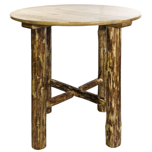 Glacier Country Rustic Bistro Table
