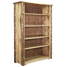 Load image into Gallery viewer, Glacier Country Rustic Bookcase