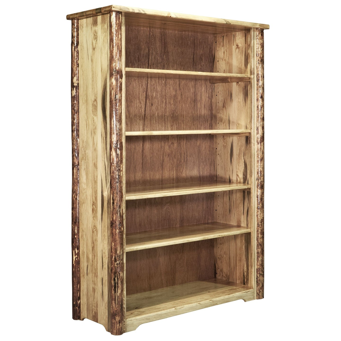 Glacier Country Rustic Bookcase