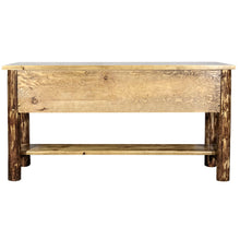 Load image into Gallery viewer, Glacier Country Rustic Console Table w/ 3 Drawers