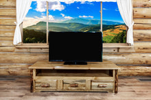 Load image into Gallery viewer, Glacier Country Rustic Entertainment Center