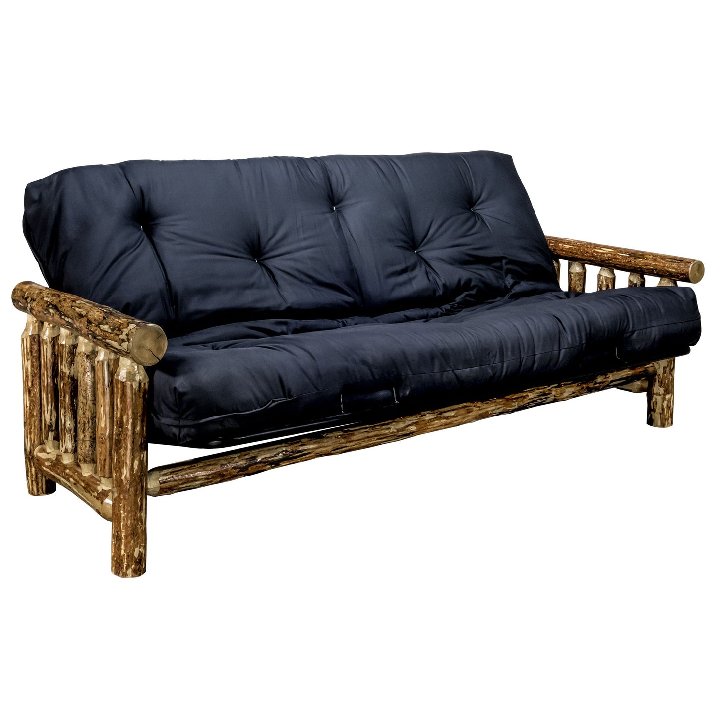 Glacier Country Rustic Futon w/ Mattress