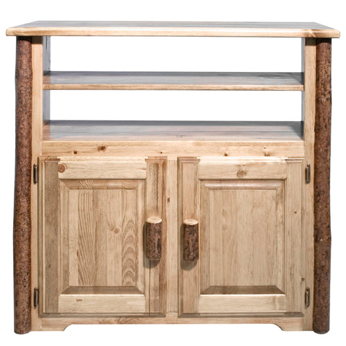 Glacier Country Rustic Media Center