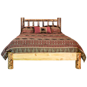 Glacier Country Rustic Platform Bed
