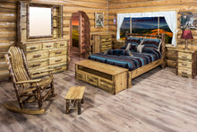 Load image into Gallery viewer, Glacier Country Rustic Platform Bed