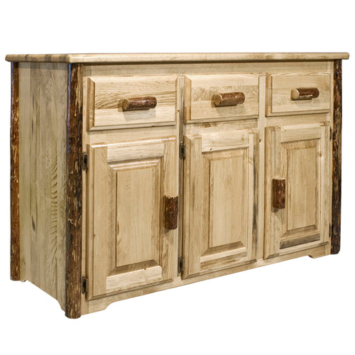 Glacier Country Rustic Sideboard