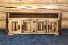 Load image into Gallery viewer, Glacier Country Rustic TV Stand