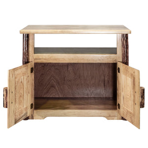 Glacier Country Rustic Utility Stand