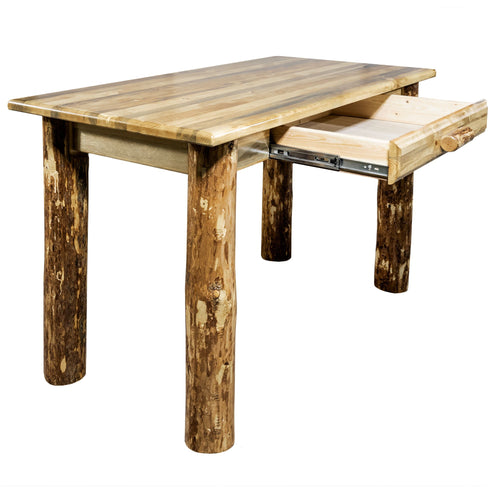 Glacier Country Rustic Writing  Desk