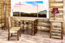 Load image into Gallery viewer, Glacier Country Rustic Writing  Desk