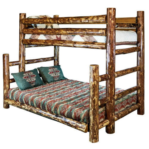 Glacier Country Rustic Bunk Bed