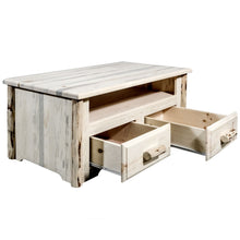 Load image into Gallery viewer, Homestead 2 Drawer Rustic Entertainment Center