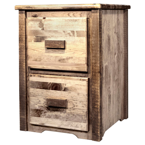 Homestead 2 Drawer Rustic File Cabinet