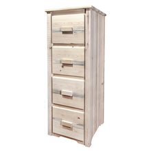 Load image into Gallery viewer, Homestead 4 Drawer Rustic File Cabinet