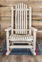 Load image into Gallery viewer, Homestead Adult Log Rocker