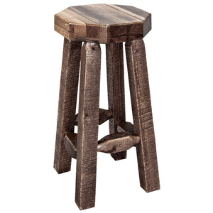 Homestead Counter Height Backless Rustic Bar Stool