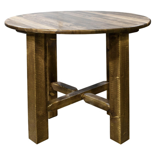 Homestead Counter Height Rustic Bistro Table