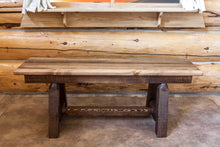 Load image into Gallery viewer, Homestead Plank Style Wood Dining Bench