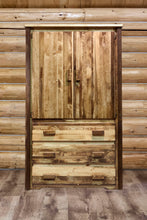 Load image into Gallery viewer, Homestead Rustic Armoire Wardrobe