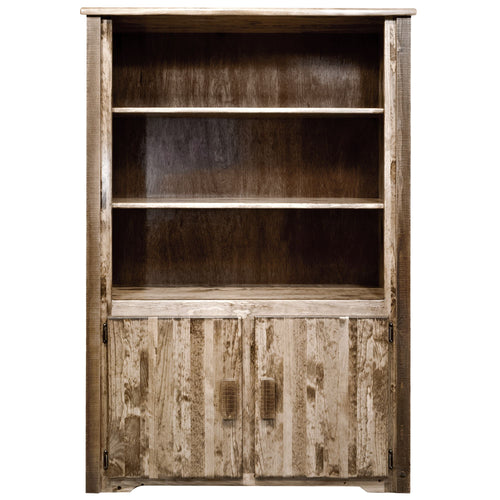 Homestead Rustic Bookcase with Storage
