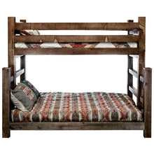 Load image into Gallery viewer, Homestead Rustic Bunk Bed