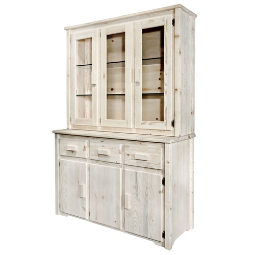 Homestead Rustic China Hutch