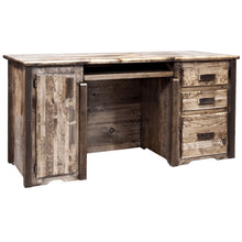 Load image into Gallery viewer, Homestead Rustic Computer Desk